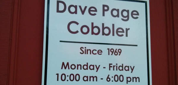 Cobbler Sign